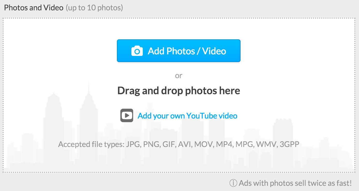 Upload a video – DoneDeal